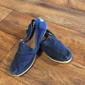 Toms Navy Blue 8.5